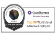 UNIVERSUM - ONE OF THE 50 WORLD'S MOST ATTRACTIVE GLOBAL EMPLOYERS